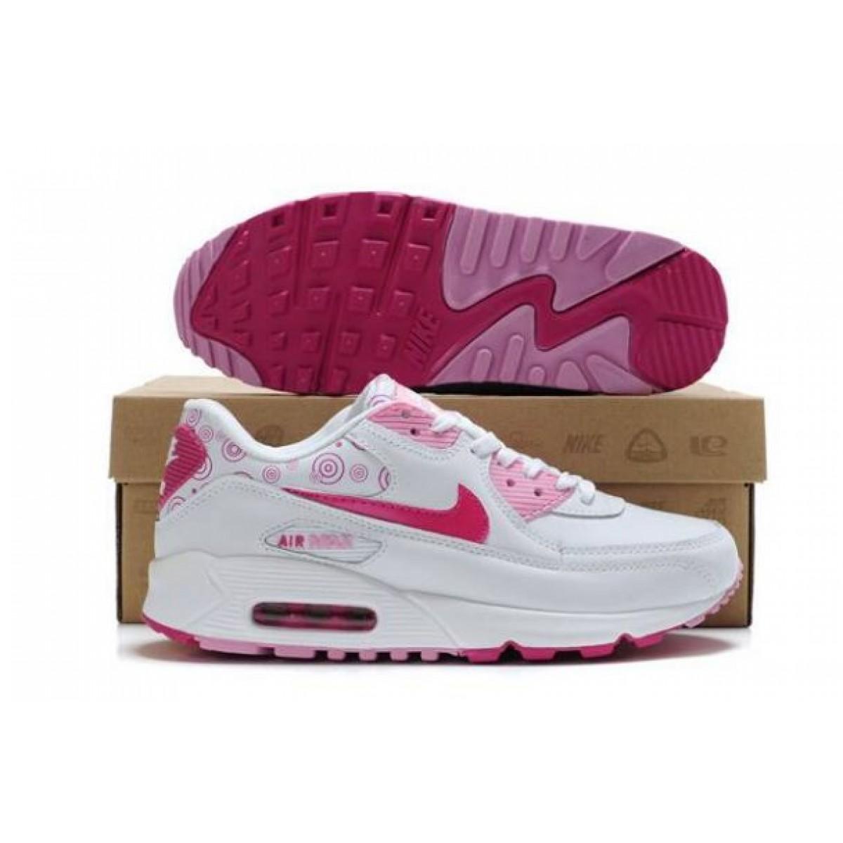 chaussure nike air max femme rose