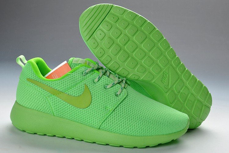 chaussure verte femme nike