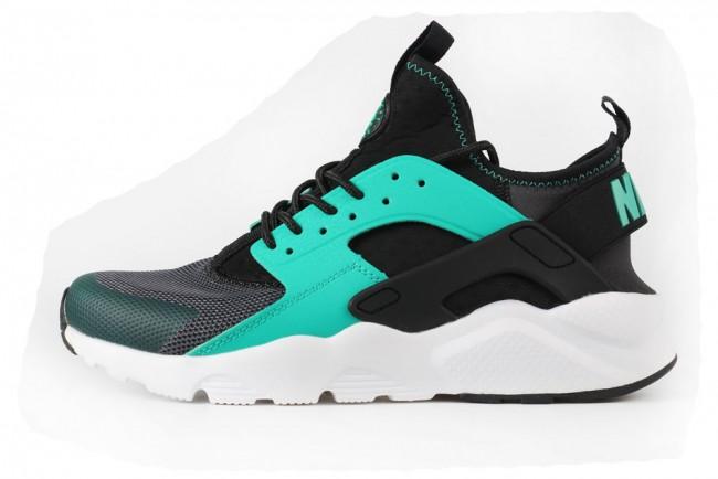 nike air huarache noir et verte femme,Femme Nike Air Huarache Ultra Noir Vert Nike Air Huarache Nike